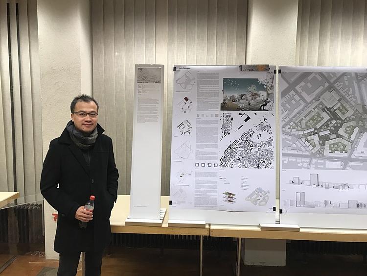 Kiến trúc sư Tống Trần Đức Tuấn. Ảnh: NVCC.
