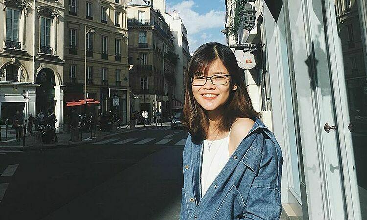 Sau ba năm sang Pháp làm việc, Ngân Linh có trải nghiệm không vui do dịch viêm phổi Vũ Hán. Ảnh: NVCC.