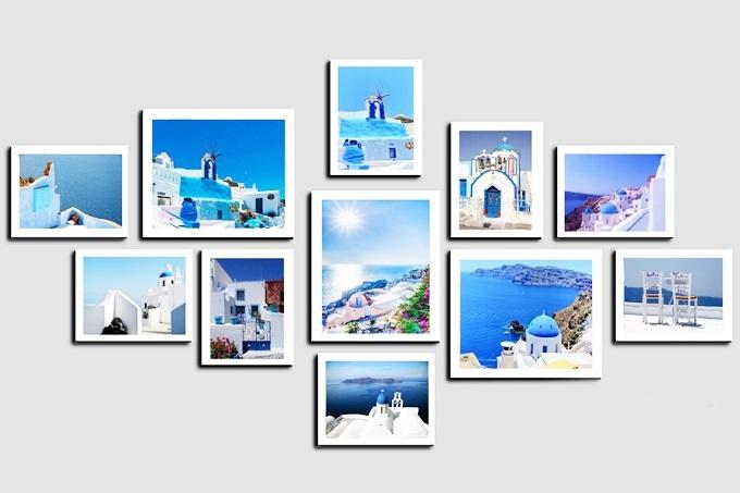 Khung ảnh đảo thiên đườngKA248 Santorini- hòn đảo nhỏ nằm trên biển Aegea, cách đất liền Hy Lạp khoảng 200 km về phía đông nam - được nhiều gia đình trẻ yêu thích, lọt top bán chạy trên Shop VnExpress. Gia chủ có thể ngắm Santorini tại nhà khi trang trí tường phòng khách với bộ ảnh chủ đề này.Bộ ảnh đang giảm 10%, còn 470.000 đồng (giá gốc 520.000 đồng).
