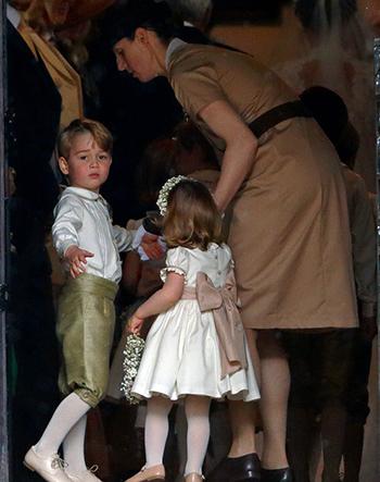 Trẻ con ở hoàng gia Anh bắt buộc phải có bảo mẫu. Ảnh: Indigo.