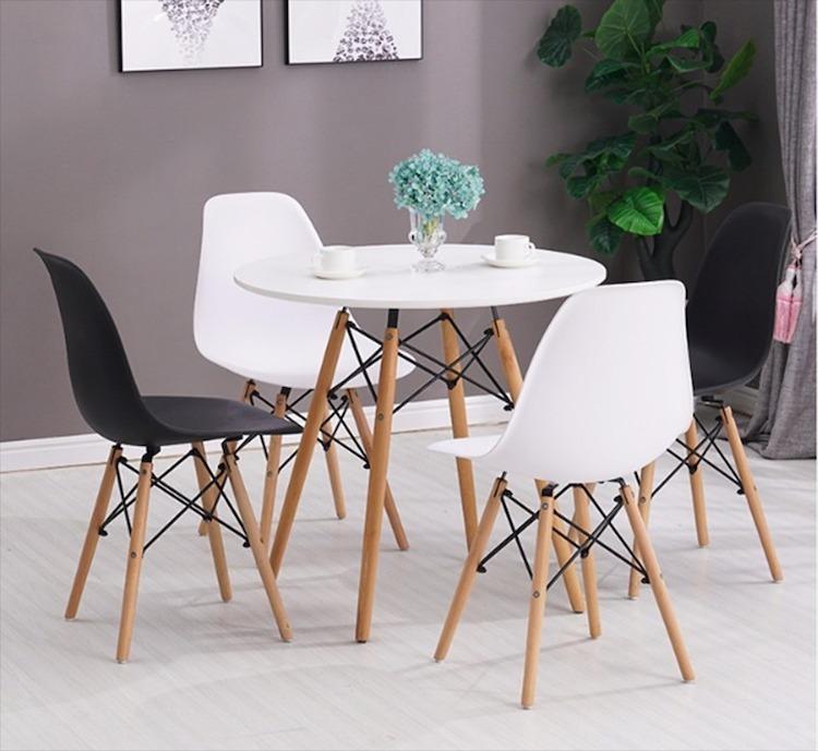 bàn ghế cafe nhựa gỗ thanh lý giá rẻ hải phòng 0834.567.824