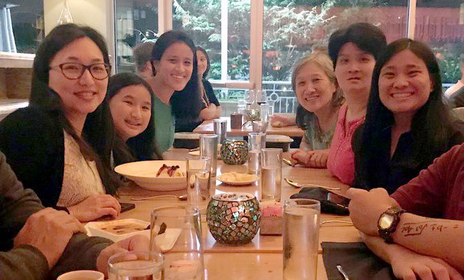 Gia đình bác sĩAnna Koo.