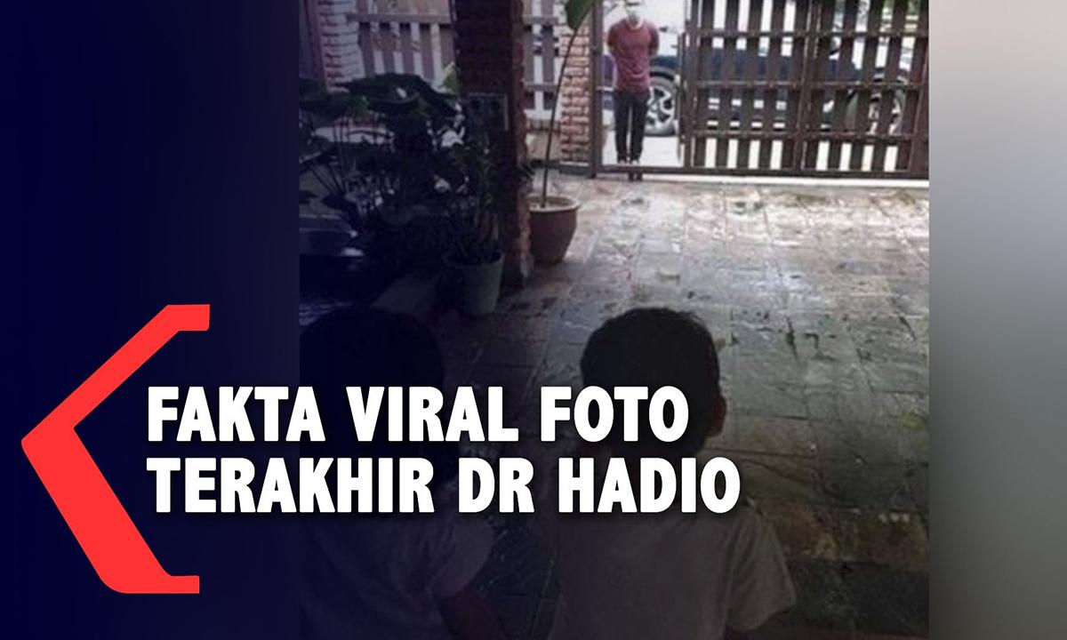 Báo chí Indonesia bóc mẽ bức ảnh giả mạo. Ảnh: Kompas TV.