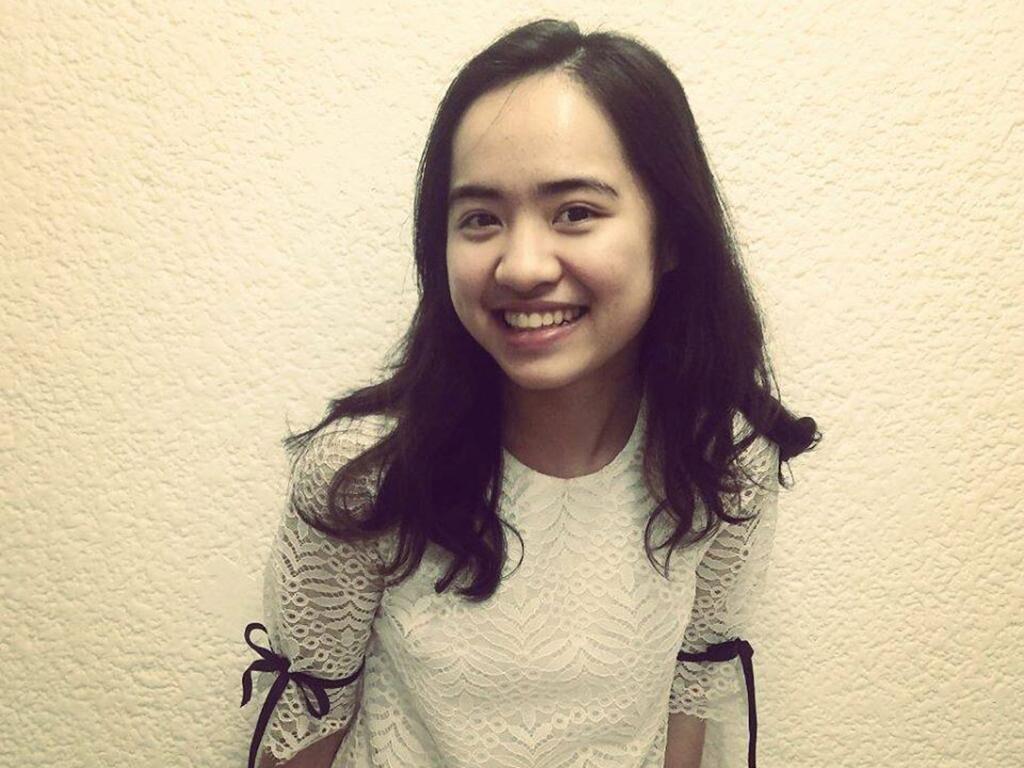 Nguyễn Thu Trang, 21 tuổi. Ảnh: Nhân vật cung cấp.