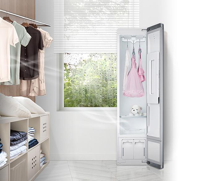 Tủ chăm sóc quần áo đa năng LG Styler.