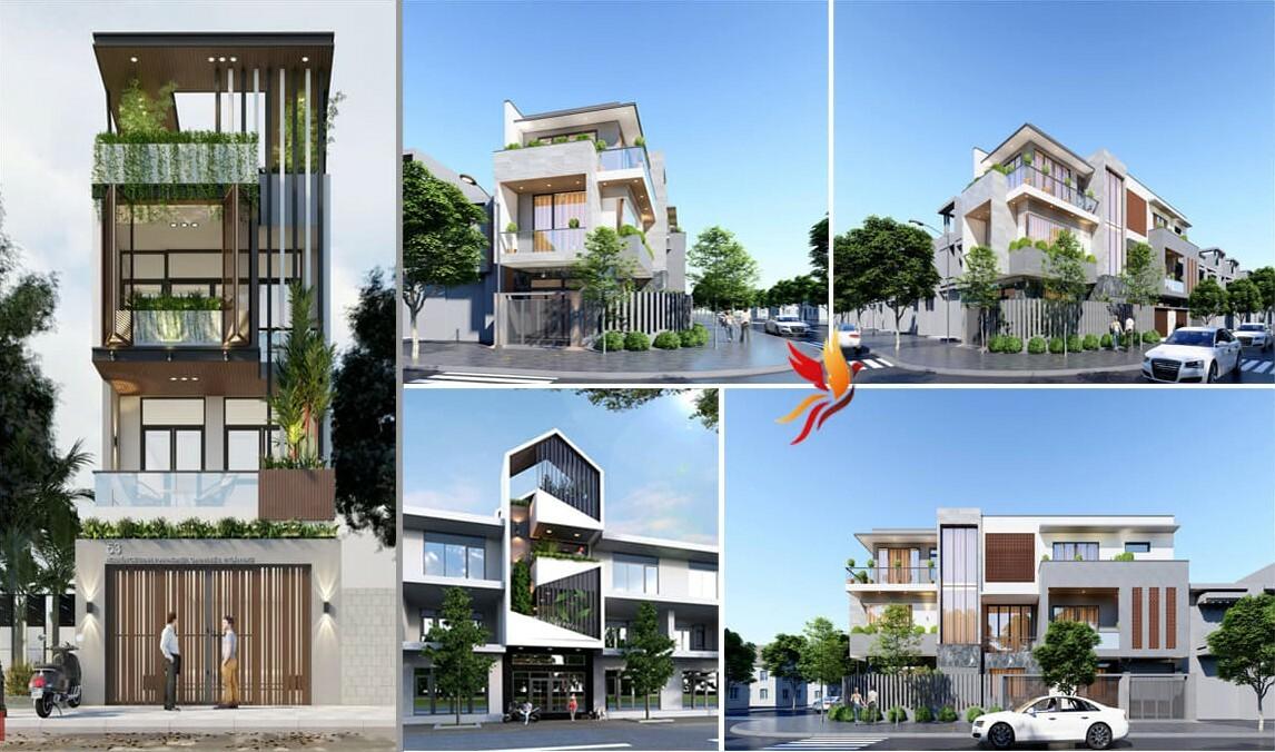 Những dự án thiết kế nhà phố nổi bật cho khách hàng ở Hà Nội.