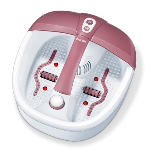 Bồn massage chân hồng ngoại FB35 với 3 chế độ gồm massage rung, thủy lực, giữ ấm nước. Thiết bị có khoang chứa dược liệu ngâm chân, trang bị 4 điểm đèn hồng ngoại và 16 nam châm tích hợp cho ứng dụng massage từ trường. Máy có nhiều tác dụng như trừ phong thấp, giúp cơ thể bài tiết chất độc; thúc đẩy vòng tuần hoàn máu, lưu thông khí huyết; đẩy mạnh quá trình tái tạo tế bào tạo cảm giác hưng phấn, xua tan mệt mỏi; thư giãn các cơ bắp bị mỏi, tạo giấc ngủ sâu. Sản phẩmđang giảm 5% trên Shop VnExpress, còn 1,89 triệu(giá gốc 1,99 triệuđồng).