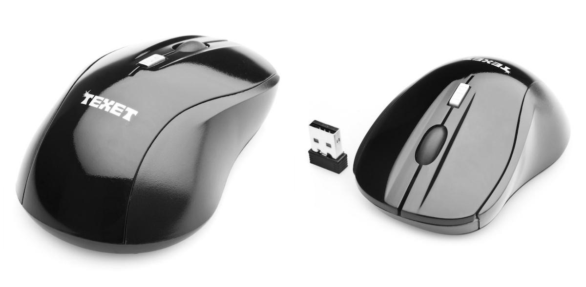 Ở cùng mức giá 129.000 đồng, chuột không dây Texet ACB-M0215 có thiết kế nhỏ gọn, nam tính hơn với màu đen toàn bộ. Sản phẩmtrang bị thêm nút cuộn và một phím điều chỉnh dpi, giúp việc lướt web và đọc tài liệu dễ dàng hơn. Cổng kết nối USB 2.0 thông dụng, dễ dàng tương thích với nhiều thiết bị khác nhau.