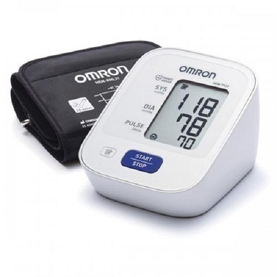 Máy đo huyết áp bắp tay Omron HEM 7121 1.350.000đ 960.000đ (-29%)  dòng sản phẩm được thiết kế cải tiến mang lại khả năng sử dụng đơn giản, nhưng vẫn đầy đủ tính năng hỗ trợ cho việc đo huyết áp chính xác. ộ nhớ lưu đến 30 kết quả đo, giúp bạn dễ dàng so sánh kết quả các lần đo khác nhau để biết được tình hình huyết áp của mình và có những điều chỉnh kịp thời trong chế độ ăn uống, nghỉ ngơi và tập luyện.  thích hợp sử dụng cho mọi gia đình