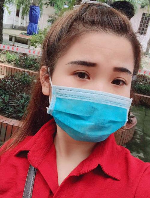 Tuệ là đồng nghiệp của các bệnh nhân nhiễm nCoV ở Hà Tĩnh. Ảnh: NVCC
