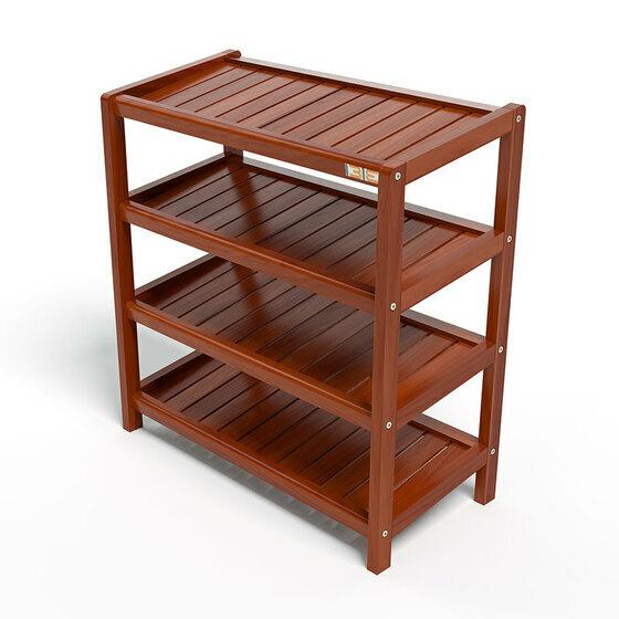 Kệ dép 4 tầng IBIE IB463 gỗ cao su 63x30x68 cm màu cánh gián 1.180.000đ769.000đ(-35%)