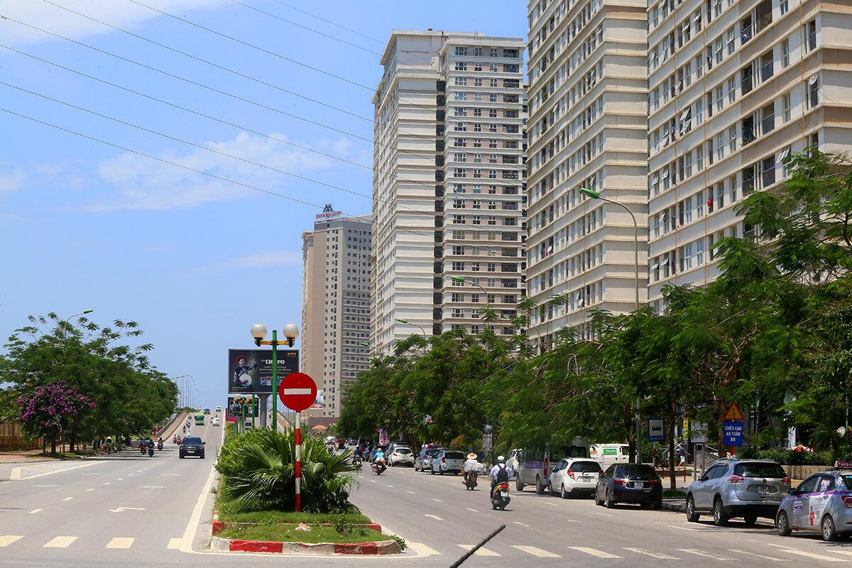 Khu đô thị Dương Nội - Hà Nội. Ảnh: Bá Đô.