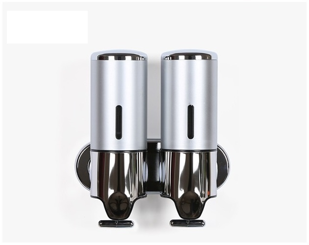 Hộp đựng dầu gội, sữa tắm gắn tường ZT406-1 giúp tăng tính thẩm mỹ, cho phòng tắm nhà bạn gọn gàng, ngăn nắp hơn. Cần gạt bằng kim loại có thiết kế đặc biệt, giúp tiết kiệm lượng xà phòng sử dụng. Hộp làm từ hcất liệu inox sáng bóng cùng nhựa bền chắc. Giá sản phẩm trên Shop VnExpress là 265.000 đồng.