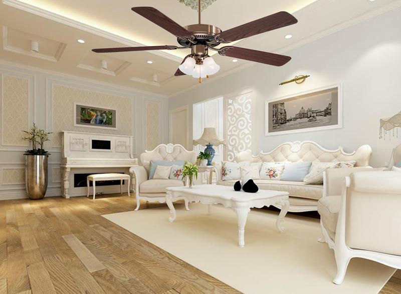 Quạt trần Minka Contractor có giá niêm yết 4.200.000 đồng, giá khuyến mại 3.380.000 đồng.