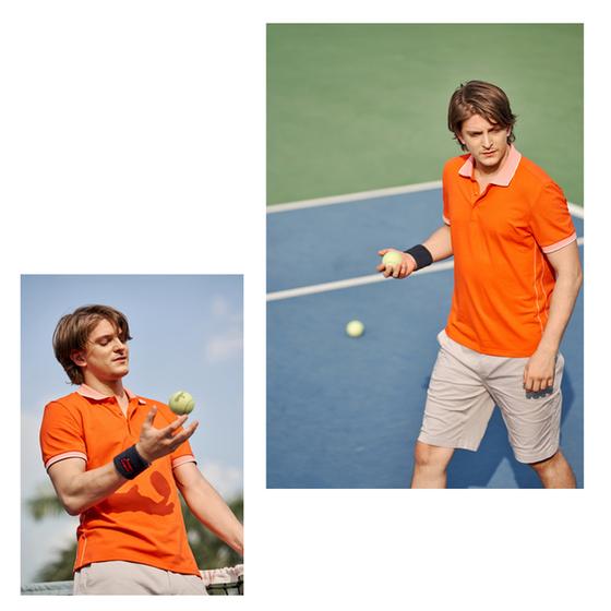 Áo polo nam ( Slimfit) màu cam DGC - SAP1908M giảm 20% còn 372.000 đồng co giãn tốt, bền chắc, thoáng mát, thấm hút mồ hôi, chống tia UV. Áo thiết kế tinh tế, đường may sắc nét, tạo hiệu ứng cuốn hút thị giác nhưng vẫn giữ vẻ nam tính, trẻ trung, năng động.