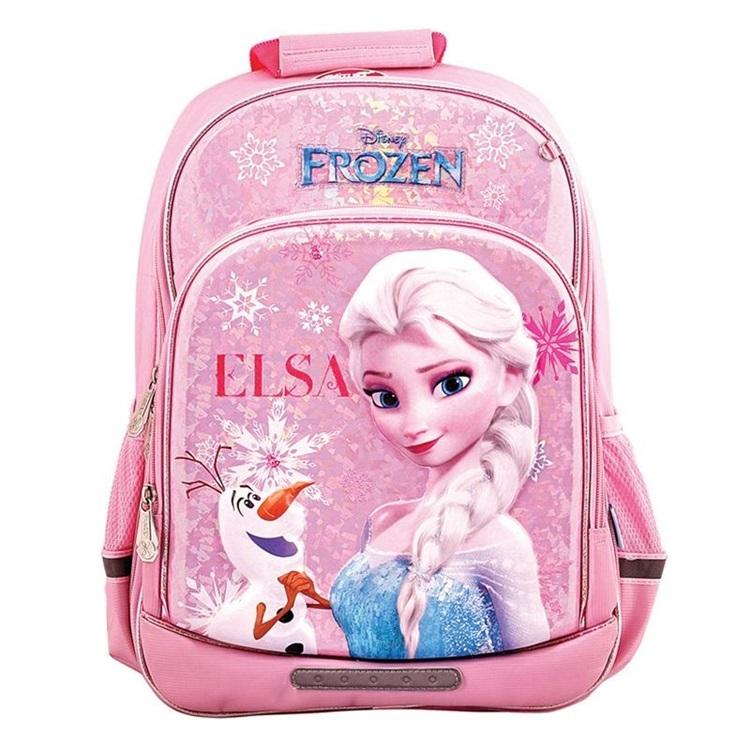 Ba lô Điểm 10 Disney TP-BP04/FR thích hợp với các bé gái mê nàng công chúa tuyết Elsa trong phim hoạt hình Frozen của Disney. Thiết kế củaThiên Long có trọng lượng nhẹ cùng đệm lưng bằng lưới và nhiều lớp mút, giúp bé thoải mái khi mang.Balo còn trang bị dây đai thiết kế dạng massage, phân tán lực nhằm khắc phục tình trạng gù lưng, đau nhức và bảo vệ cột sống của bé. Sản phẩm đang giảm 20%, còn 648.5000 đồng (giá gốc810.600 đồng).