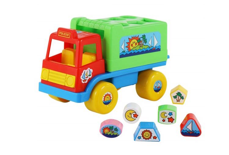 Xe tải thả hình Island đồ chơi là xe đồ chơi cỡ vừa thích hợp cho bé từ 1 tuổi trở lên, được thiết kế giúp bé nhận diện các khối hình tam giác, vuông, tròn...Phần nắp thả khối có thể tháo lắp dễ dàng, thuận tiện cho hoạt động vui chơi của bé.