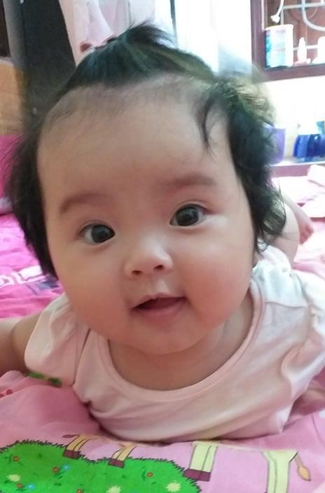Bố bé Trần Phương Linh chia sẻ yêu con hơn bất cứ điều gìtrên đời.