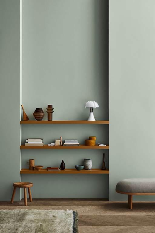 Bức tường nhẵn mịn nhờ được phủ dòng sơnJotashield có khả năngche phủ vết nứt, bền màu và dễ lau chùi.