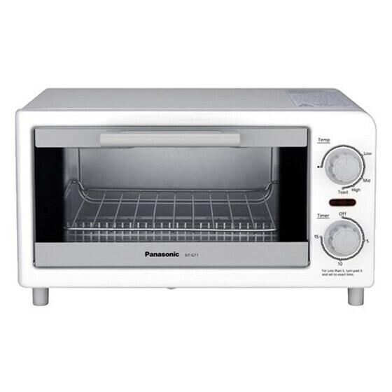 Lò nướng điện Panasonic NT-GT1WRA giá 972.000 đồng trang bị 4 chế độ nướng khác nhau; công suất mạnh mẽ lến đến 1.200 W, giúp người nội trợ nướng bánh, thực phẩm nhanh chín, tiết kiệm thời gian vào bếp để dành nhiều thời gian bên gia đình hơn.