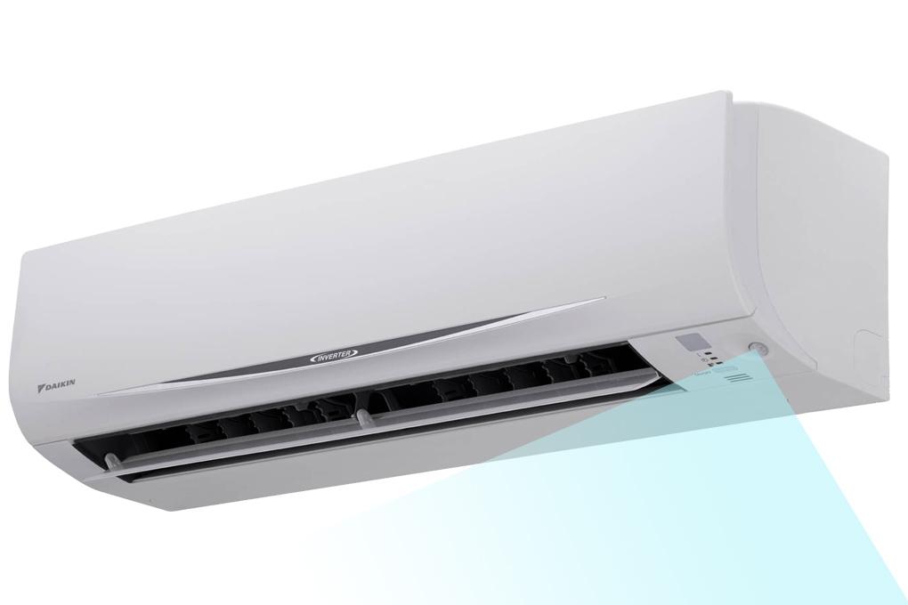 Mắt thần thông minh hoạt động dựa trên cảm biến hồng ngoại, tự động phát hiện chuyển động của người trong phòng để điều chỉnh nhiệt độ của máy giúp tiết kiệm năng lượng cho phù hợp.