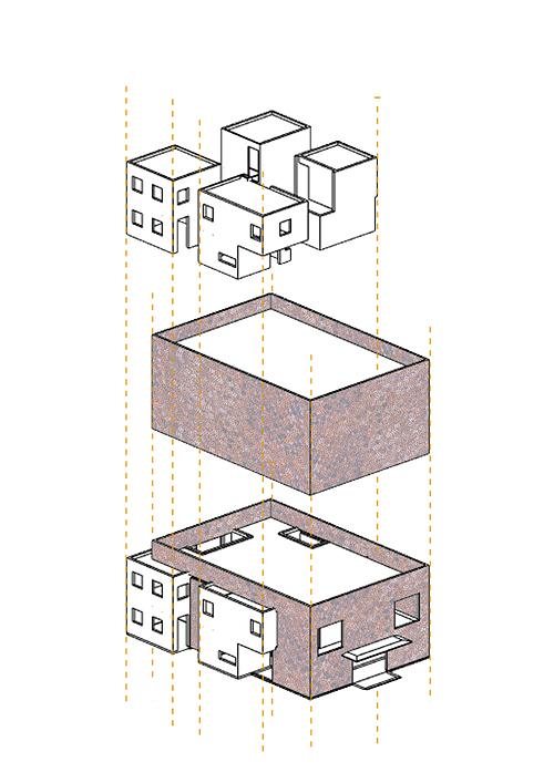 Cấu trúc căn nhà.