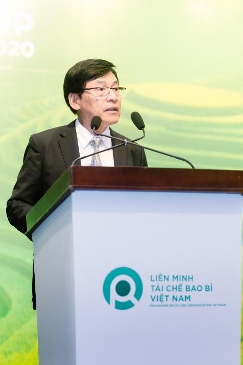 Ông Phạm Phú Ngọc Trai - Chủ tịch của PRO Việt Nam phát biểu tại buổi lễ tổng kết.