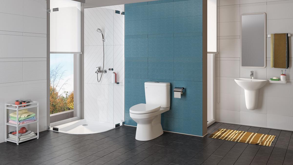 Ngày nay, nhà tắm không chỉ là nơi rũ bỏ những bụi bặm sau một chuyến đi, một ngày làm việc, học tập vất vả, không gian trở thành một phần quan trọng thể hiện chất lượng cuộc sống.