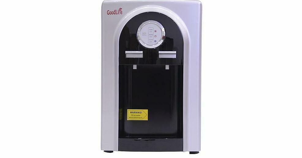 Cây nước nóng lạnh Goodlife GL-LN04 giảm 39% còn 1,099 triệu đồng; công suất làm lạnh 65W, công suất làm nóng 500 W, cung cấp nước nóng để bạn uống, pha cà phê, pha trà, nấu mì... Hệ thống làm lạnh bằng chíp điện tử, sản phẩm còn mang đến cho bạn những cốc nước mát lạnh sử dụng mọi lúc.