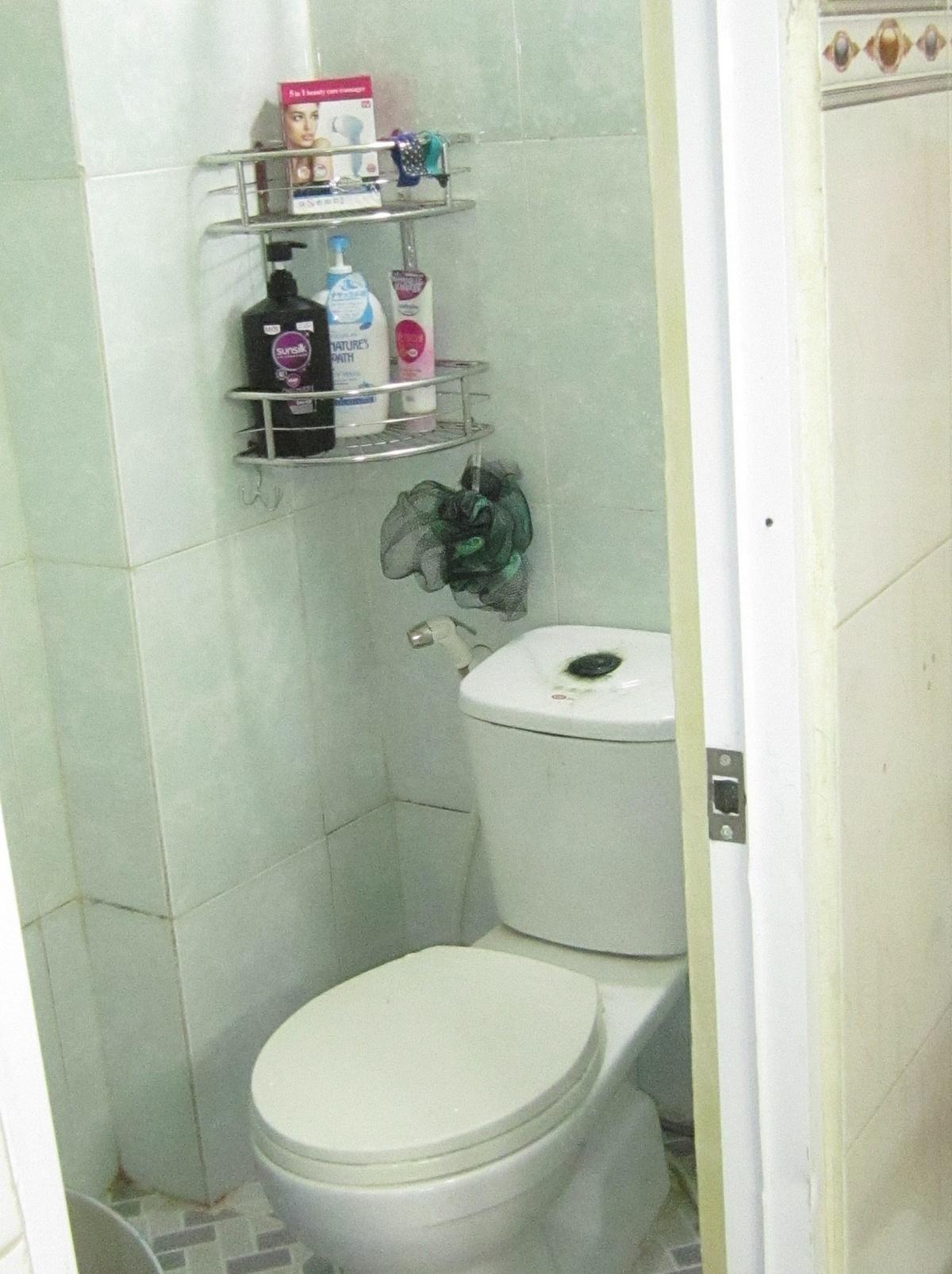 Thiết bị phòng tắm chưa ưng ý.