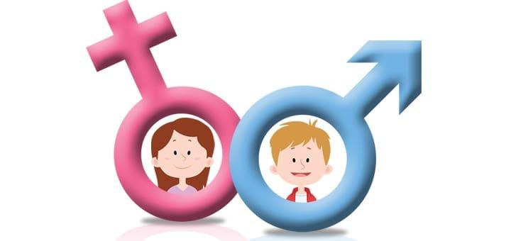 Thay vì trông chờ trường học giáo dục giới tính cho con bạn, cần phải chủ động dạy con về giới tính, thay vì có suy nghĩ rằng nó còn rất nhỏ. Ảnh: KidsHealth.