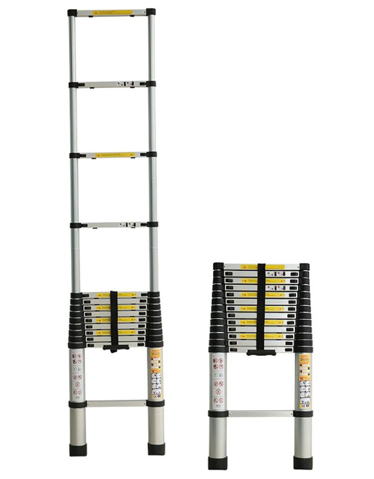 Thang nhôm xếp đơn 15 bậc Ameca AMD-480 chiều cao tối đa 4,8 m, chiều cao rút gọn là 0,97 m,  trọng lượng 13,6 kg, tải trọng 150 kg. Chiều rộng của thang là 50 cm. Khoảng cách giữa các bậc là 32,5 cm. Sản phẩm đang được bán với giá ưu đãi là 1,75 triệu đồng.