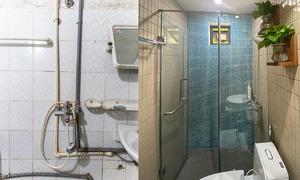 Cải tạo phòng tắm cho điều dưỡng tuyến đầu chống dịch