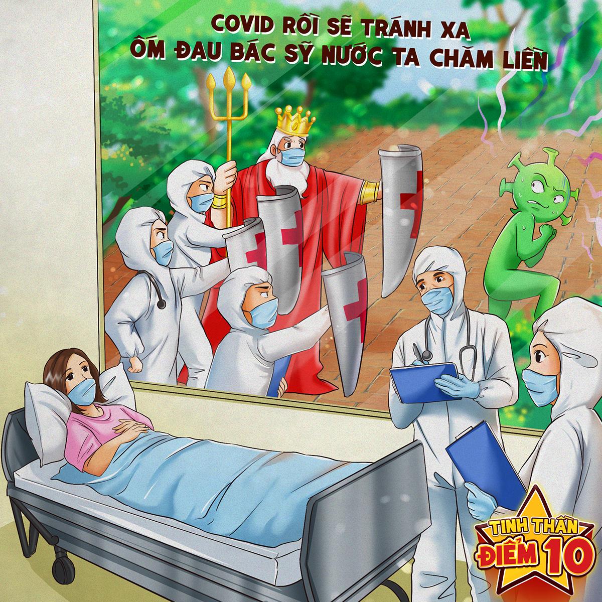 Khi ngành y tế gặp phải thách thức, các y bác sĩ và tình nguyện viên không ngần ngại nguy hiểm, xông pha tuyến đầu. Hàng trăm ca nhiễm nCoV đã được chữa khỏi và trở lại cuộc sống bình thường.