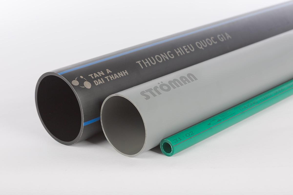 Ống nhựa Ströman sản xuất từ nhựa nguyên sinh với khả năng đàn hồi cao, giãn nở linh hoạt, có thể giữ nguyên kết cấu và tính năng trước tác động ngoại cảnh, dẫn nước mà không rạn nứt...