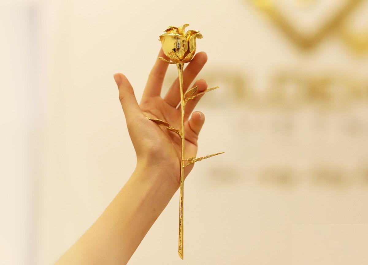 Ở cùng mức giá 1,7 triệu đồng, bông hoa hồng mạ vàng 24K HHMV thích hợp làm quà tặng bà và mẹ, những người phụ nữ quan trọng trong đời mỗi người. Hình ảnh hoa hồng mang ý nghĩa tượng trưng cho tình yêu vĩnh cửu, đại diện cho tình cảm yêu thương, trân trọng bạn muốn gửi tới người nhận.