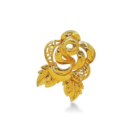 Cài áo bông hồng vàng 24K DOJI FH60001 có giá giảm 10% còn 5,94 triệu đồng (giá gốc 6,6 triệu đồng). Hoa hồng mang ý nghĩa tượng trưng cho lòng hiếu thảo đối với đấng sinh thành, thích hợp dùng làm quà tặng vào dịp lễ Vu Lan. Cài áo làm từ vàng 24K chuẩn, trọng lượng 0,7-0,8 lượng, bao gồm mặt dây cài áo và dây đeo đi kèm.