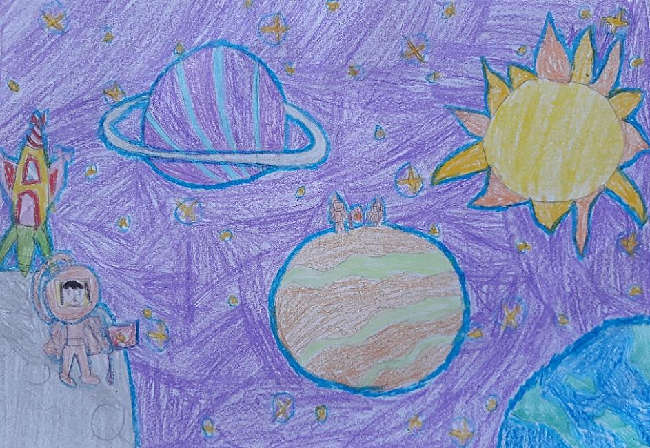 Bé Cát Tường (8 tuổi) ước mơ trở thành nữ phi hành gia đầu tiên của Việt Nam bay vào vũ trụ. Con ước mơ sẽ cắm lá cờ Việt Nam trên mặt trăng, ngắm nhìn trái đất và các hành tinh xung quanh.