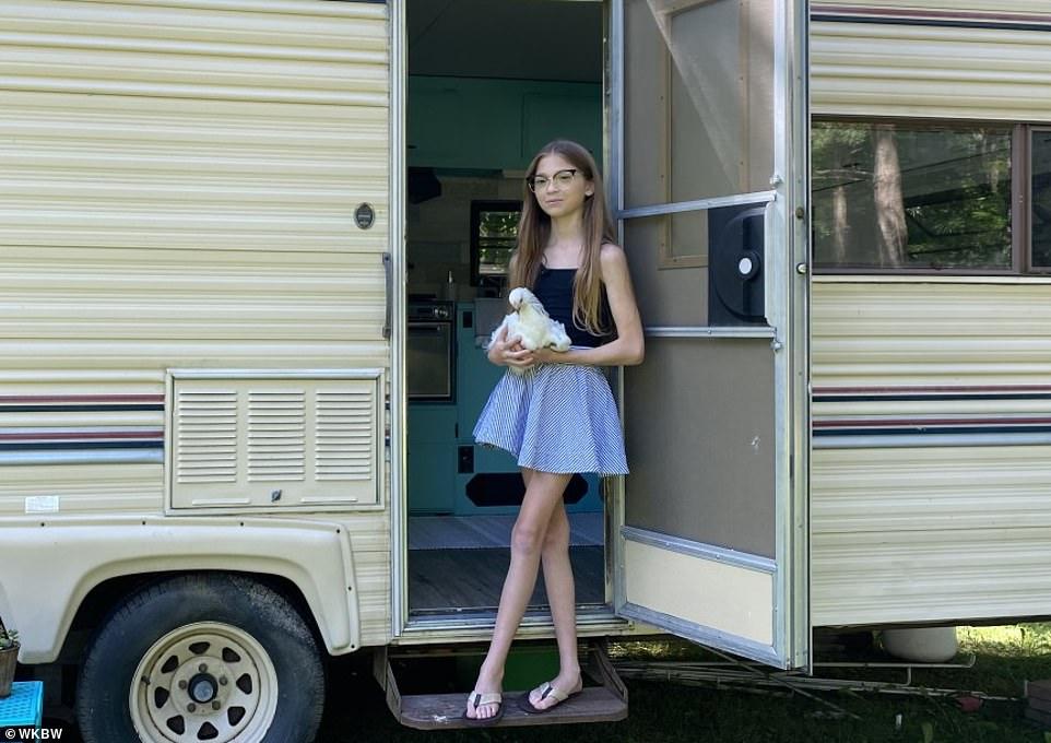 Lauren sở hữu nhà của mình ở tuổi 11. Ảnh: Dailymail.