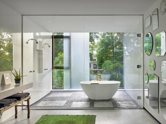 5 quy tắc vàng trong thiết kế phòng tắm  - 2