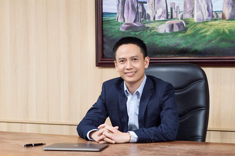 Ông Lưu Anh Tiến, CEO Con Cưng.