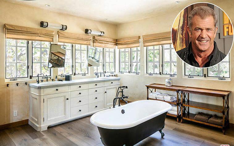 Ngoài diễn xuất và tài đạo diễn, ở Hollywood Mel Gibson được biết đến như một nhà đầu tư bất động sản hiệu quả. Mel đưa ngôi nhà ở Malibu của mình ra thị trường với giá 13,3 triệu bảng Anh vào năm 2017. Căn nhà có 5 phòng tắm trong khu nhà, bao gồm cả phòng suite lớn này có bồn tắm theo phong cách truyền thống đặt ở giữa phòng. Không gian bố trí nhiều cửa sổ, gia chủ có thể nhìn ra ngoài vườn.   Mel Colm-Cille Gerard Gibson, là diễn viên kiêm đạo diễn, nhà sản xuất, nhà biên kịch nổi tiếng người Mỹ. Ông sinh tại Peekskill, New York. Năm 12 tuổi, ông cùng cha mẹ chuyển đến sống tại Australia và học diễn xuất tại National Institute of Dramatic Art.