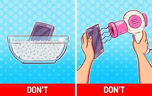 10 cách dùng điện thoại tưởng đúng mà sai - 2