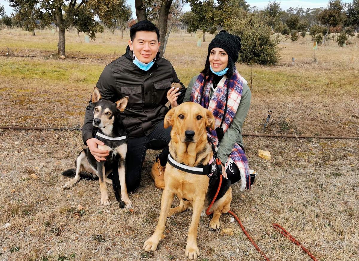 Xuân Thọ và Sara đang sinh sống và làm việc tại các trường đại học ở Sydney. Ảnh: Nhân vật cung cấp.