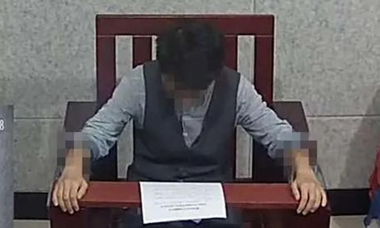 Mr Lee - tức cô Trần - bị tạm giam với hành vi Lừa đảo. Ảnh: sina
