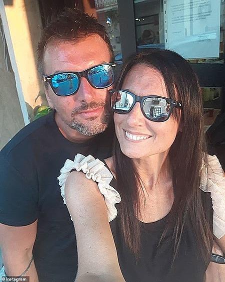 Paola và D'Alpaos. Ảnh: Instagram Michele D'Alpaos.