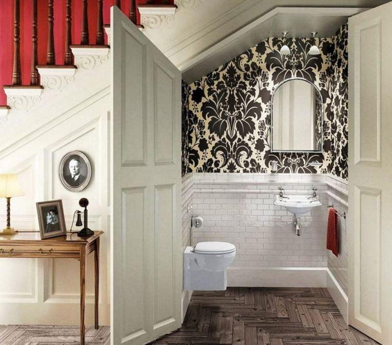 10 thiết kế phòng tắm tiện nghi dưới cầu thang  - 12