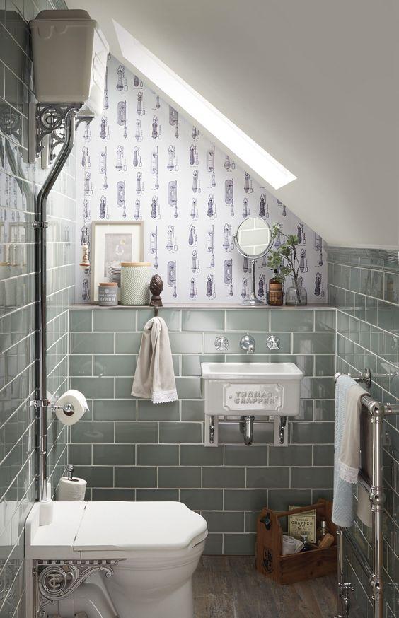 10 thiết kế phòng tắm tiện nghi dưới cầu thang  - 8