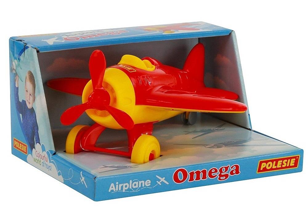 Máy bay thể thao OMEGAlà đồ chơi mang kích thước thu nhỏ của máy bay Sport OMEGA trong thực tế, giúp các bé có cảm giác thích thú khi chơi và tưởng tượng về hình ảnh mình là chú phi công lái chiếc OMEGA bay vi vu trên bầu trời, nuôi dưỡng ước mơ của các bé từ khi còn nhỏ. Sản phẩm nặng 310 gr, kích thước 24 x 13 x 12 cm, có giá niêm yết 159.000 đồng, giảm 10% còn 143.000 đồng.