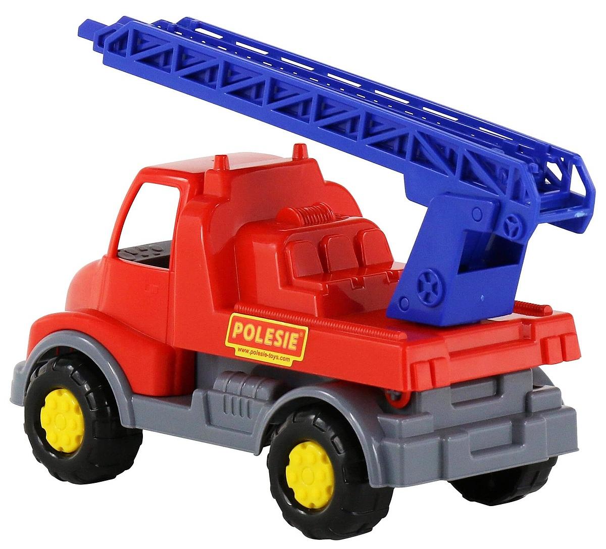 Xe cứu hỏa Leonlà xe đồ chơi mang kích thước thu nhỏ của xe cứu hỏa trong thực tế, thiết kế có thang cứu hộ phía sau, kích thích tinh thần sáng tạo, khả năng nhập vai của bé. Nặng 280 gr, sản phẩm đang được bán với giá ưu đãi 10% là 107.000 đồng.